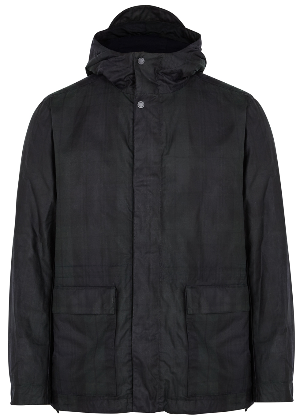 NORSE PROJECTS NUNK CHECKED COATED COTTON JACKET
