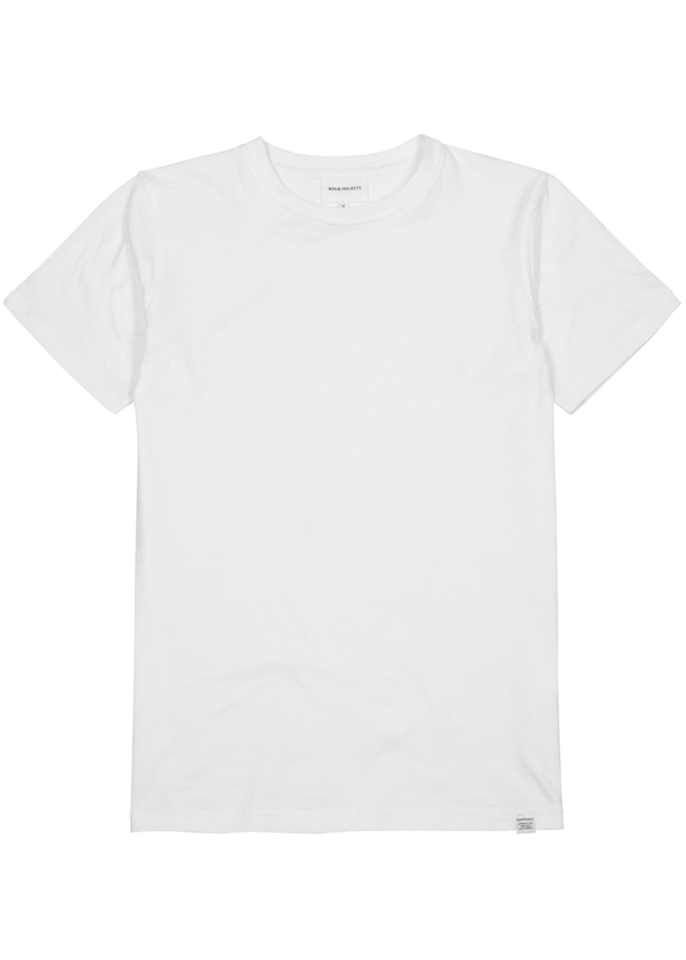 NORSE PROJECTS NEILS WHITE COTTON T-SHIRT