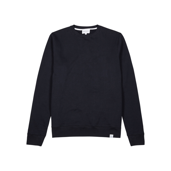 Norse Projects Vagn Navy Cotton Sweatshirt