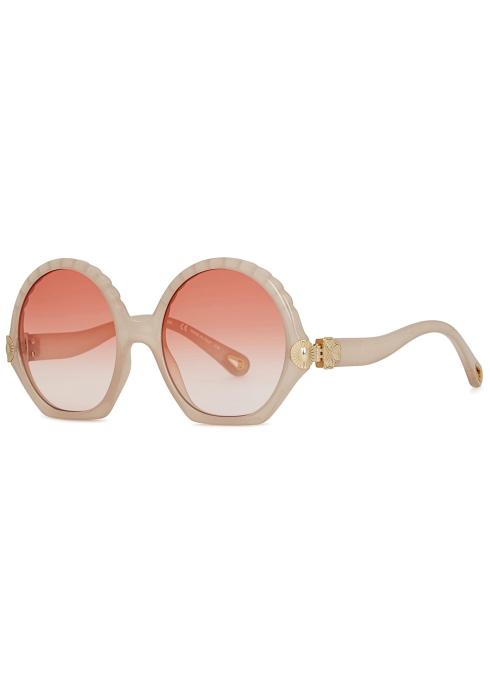 aab126de4c Chloé Vera oversized sunglasses - Harvey Nichols