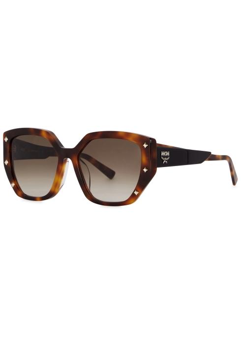 566a899351 MCM Tortoiseshell cat-eye sunglasses - Harvey Nichols
