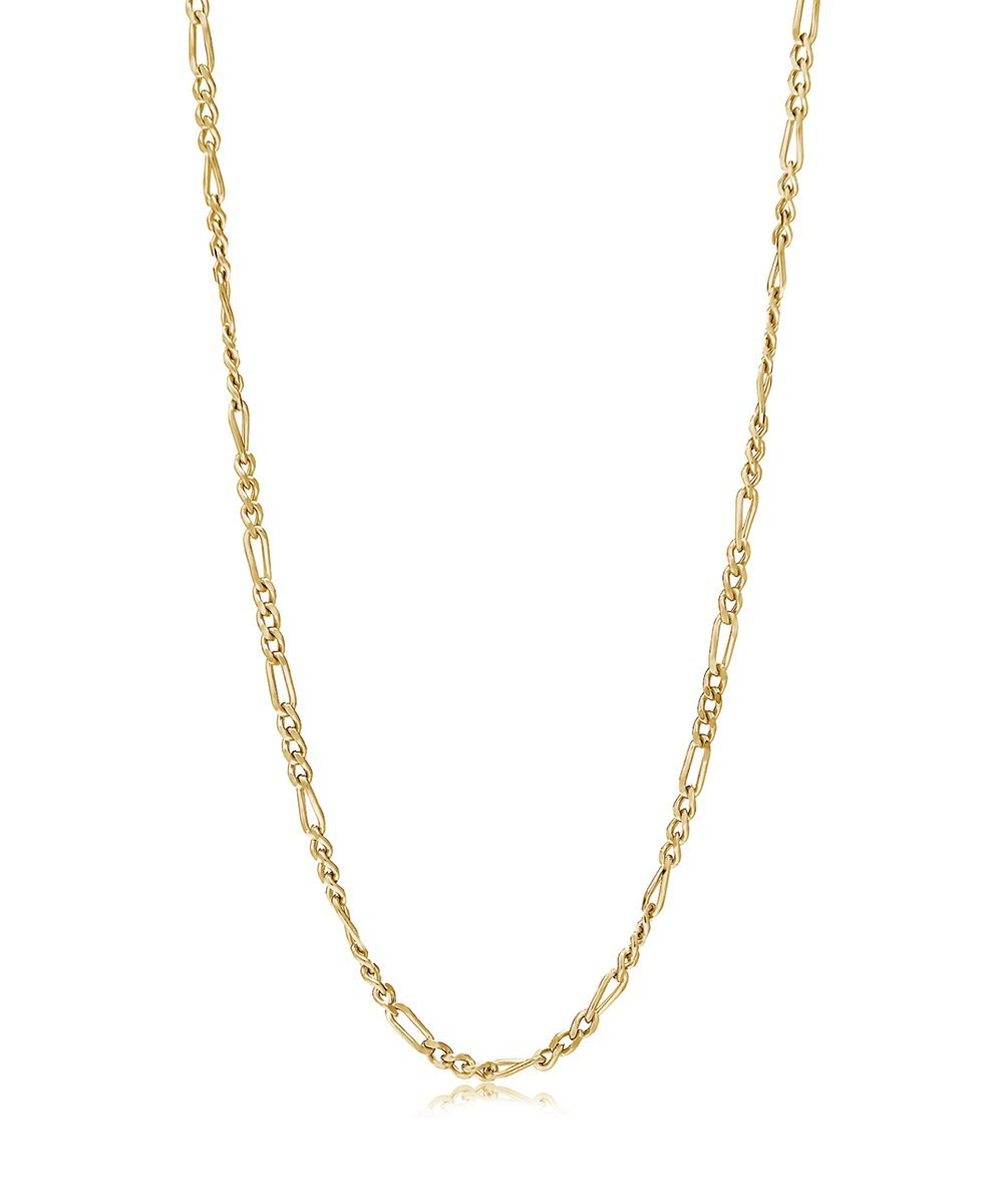 EDGE OF EMBER BRIDGE GOLD CHAIN NECKLACE