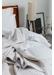 Cotton sateen pillowcase white square 65x65 - Urban Collective