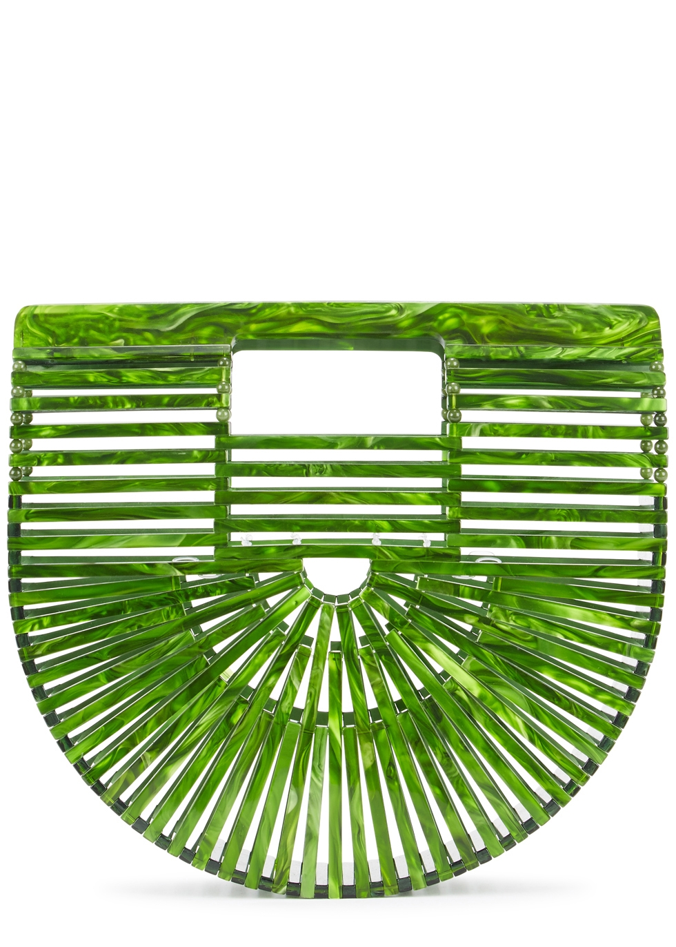 CULT GAIA ARK MINI GREEN CLUTCH