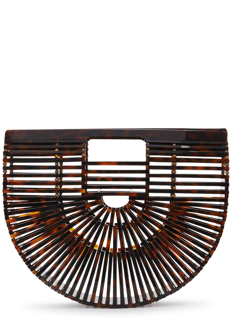 CULT GAIA ARK SMALL TORTOISESHELL CLUTCH