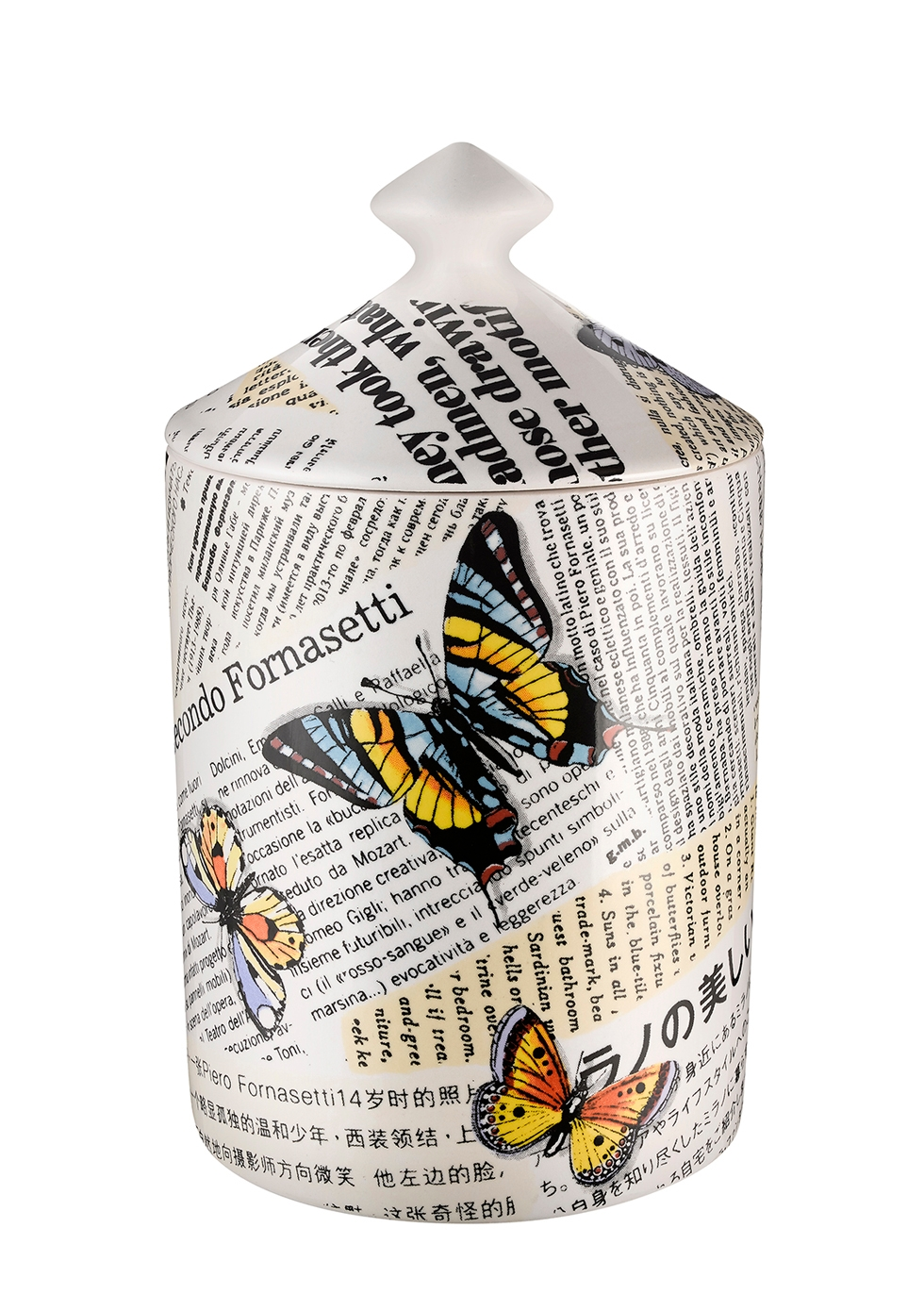 Ultime Notizie Flora Candle 300g - FORNASETTI