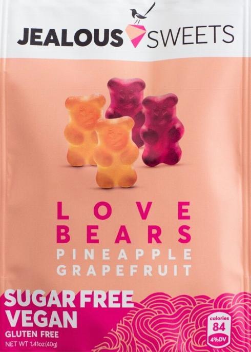 8a50b2b926e0b3 Jealous Sweets Love Bears Gummy Sweets 40g - Harvey Nichols