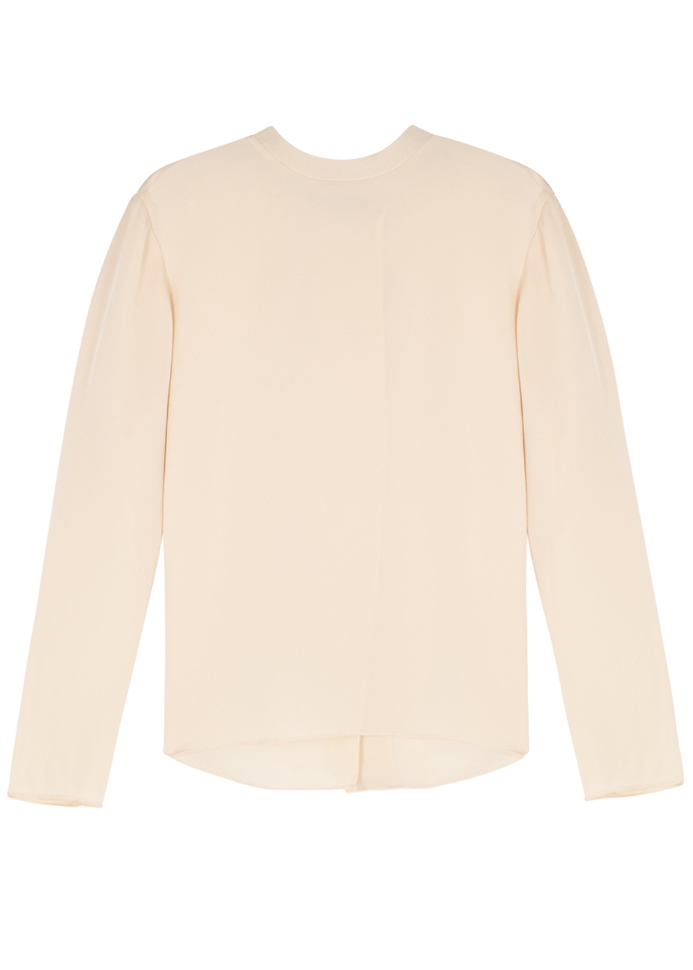 VINCE BISCUIT SILK BLOUSE