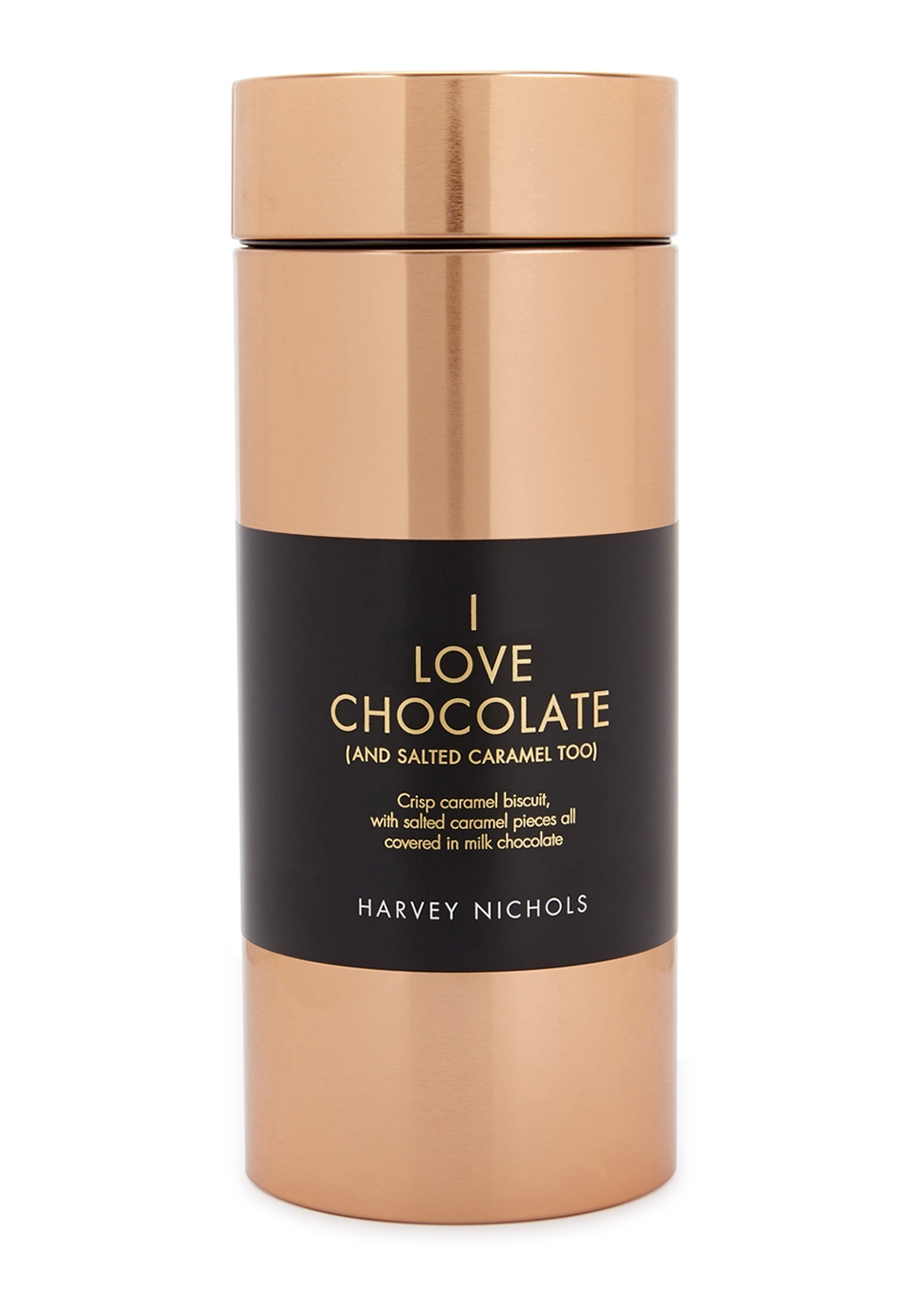 harvey nichols i love chocolate biscuits copper tin 300g rh harveynichols com