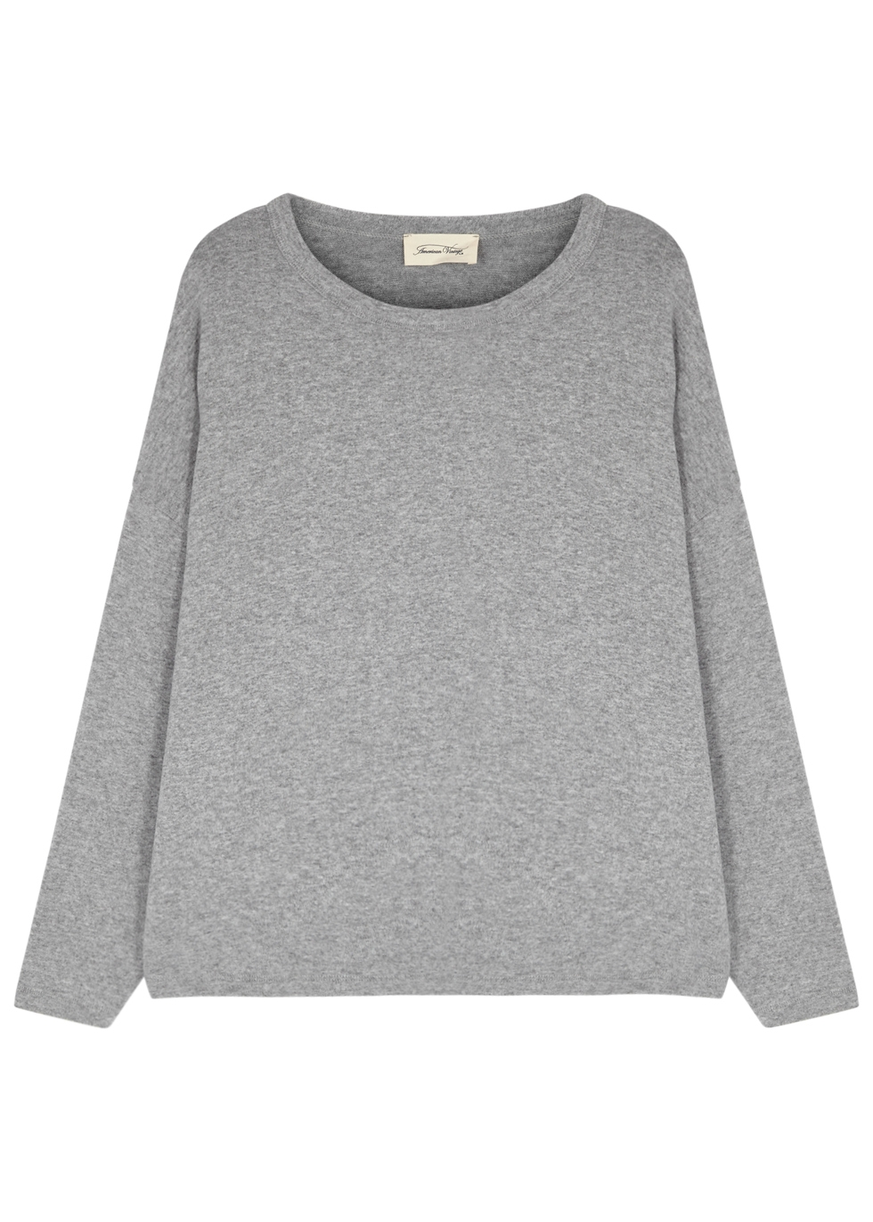 AMERICAN VINTAGE VETINGTON GREY JERSEY TOP
