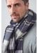 Tartan tissue cashmere stole | royal stewart - Johnstons of Elgin