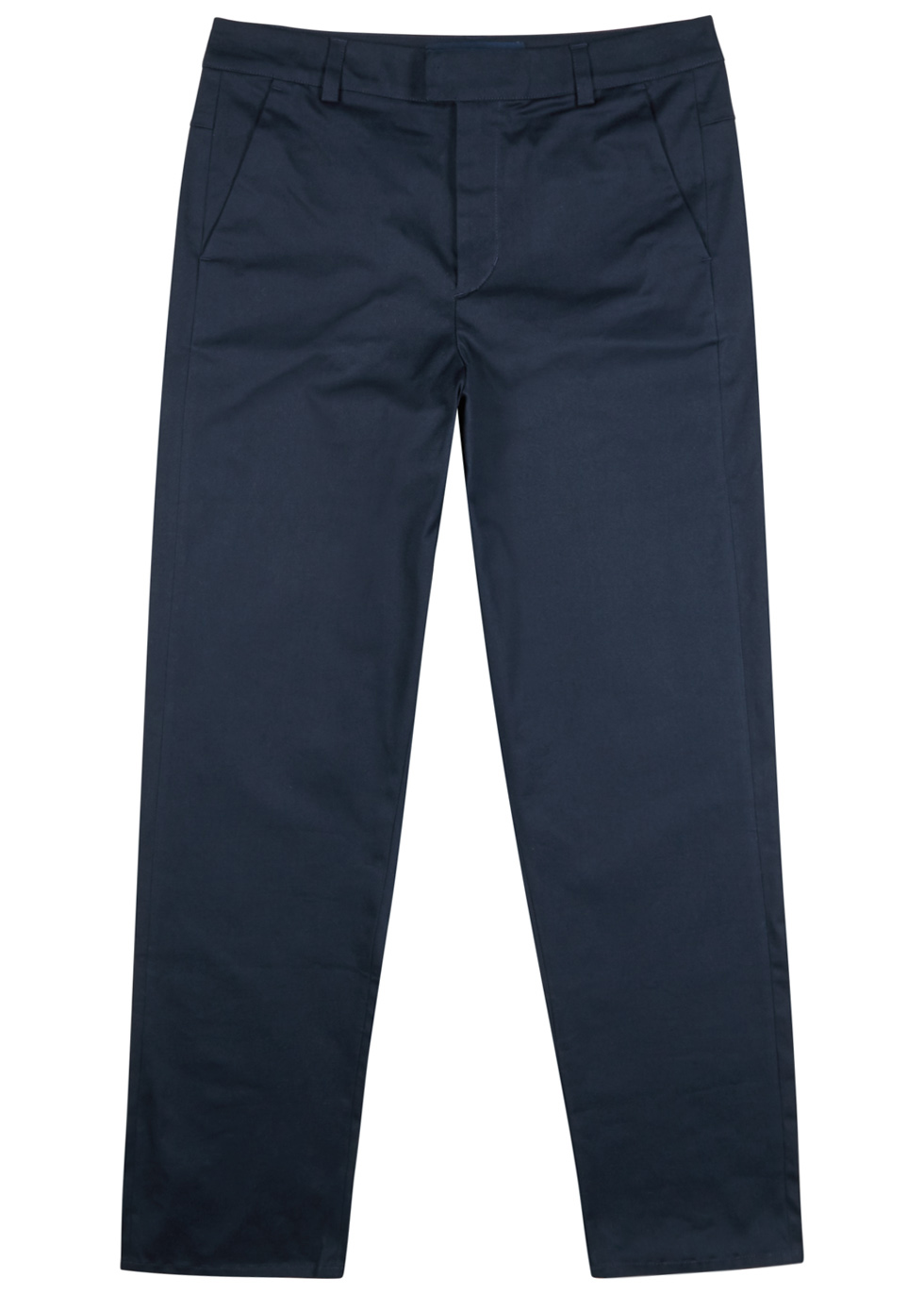 NATURAL SELECTION BOXER NAVY STRETCH-TWILL CHINOS