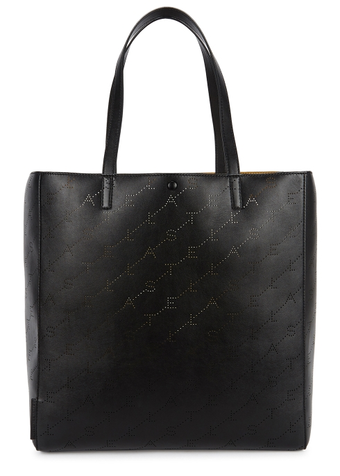 ae327a62950c Stella McCartney Perforated-logo faux-leather tote - Harvey Nichols