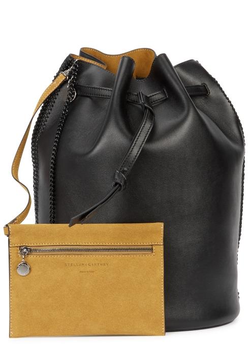 Stella McCartney Falabella faux leather bucket bag - Harvey Nichols 2c78dba5ee