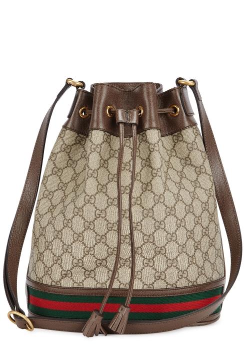 efe95bc843f7 Gucci Ophidia GG bucket bag - Harvey Nichols