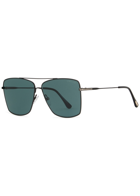 5149ebe00d2f Tom Ford Magnus aviator-style sunglasses - Harvey Nichols
