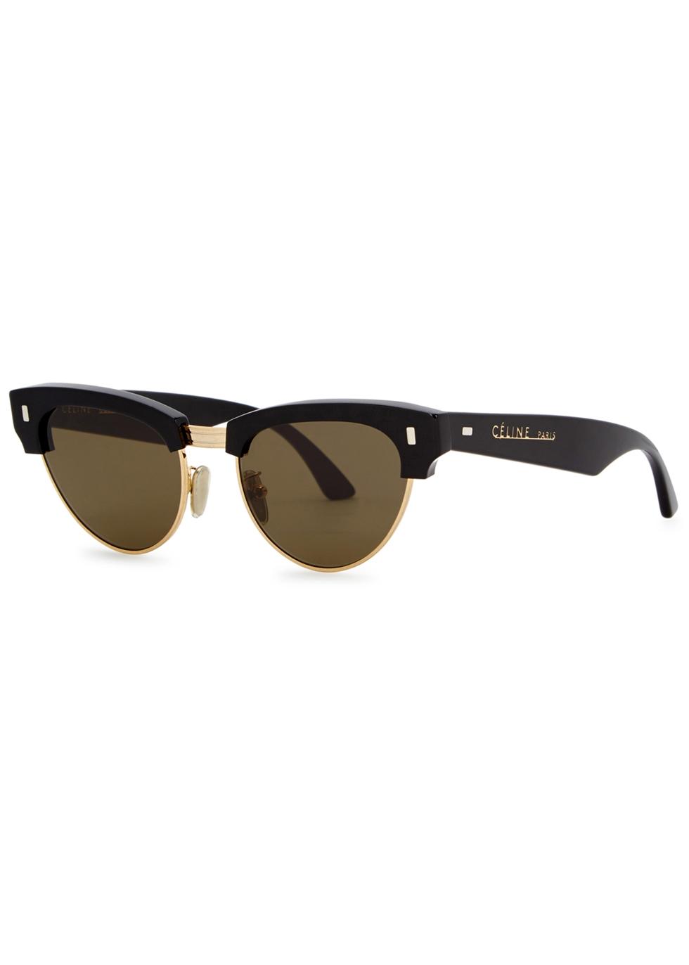 ec737860d Celine Black clubmaster-style sunglasses - Harvey Nichols