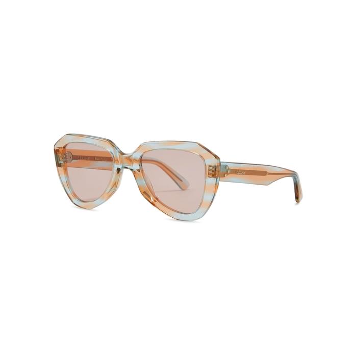 eec4c2f509 Celine Tortoiseshell Wayfarer-style Sunglasses. Harvey Nichols ...
