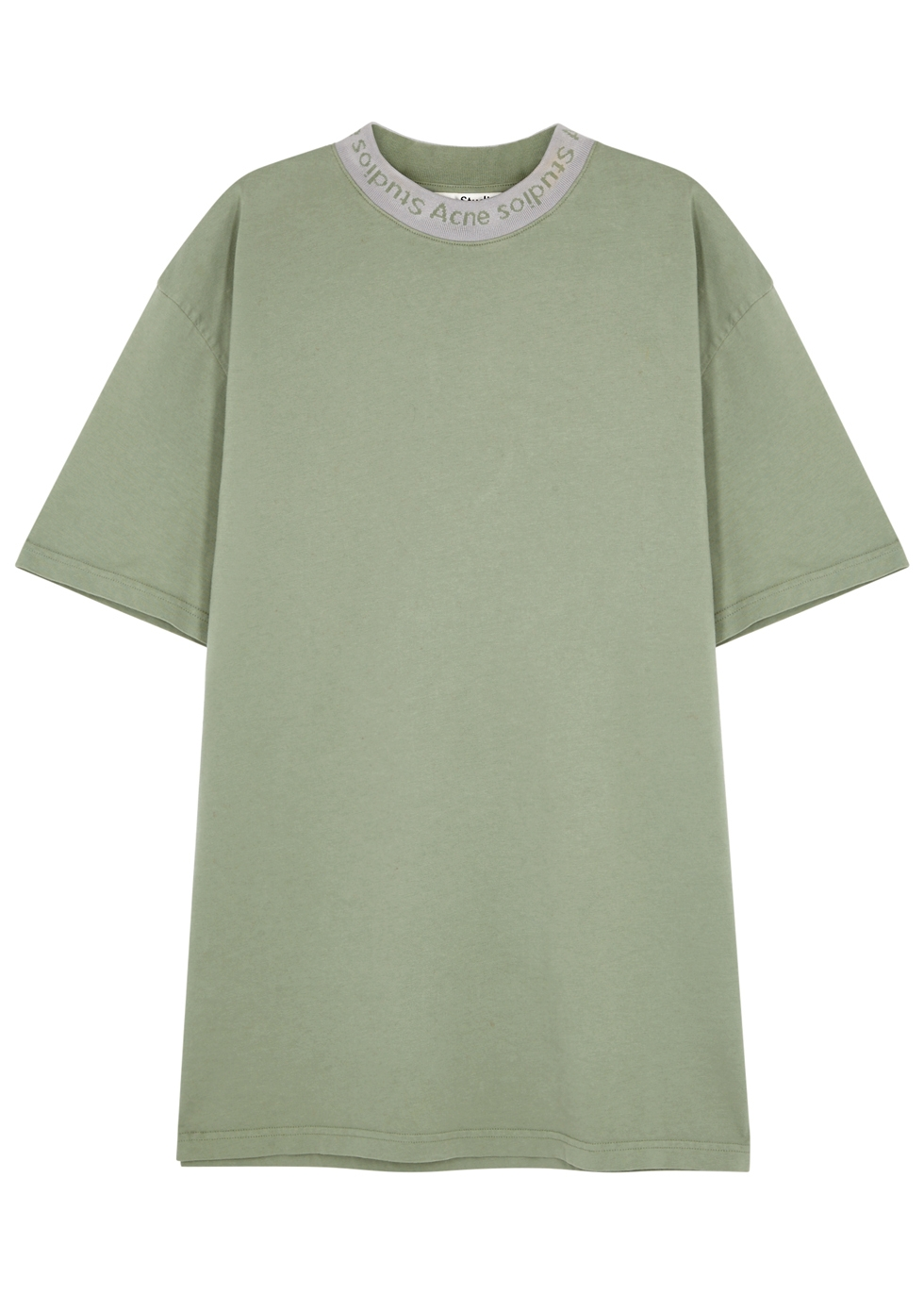 Gojina Green Cotton T-Shirt
