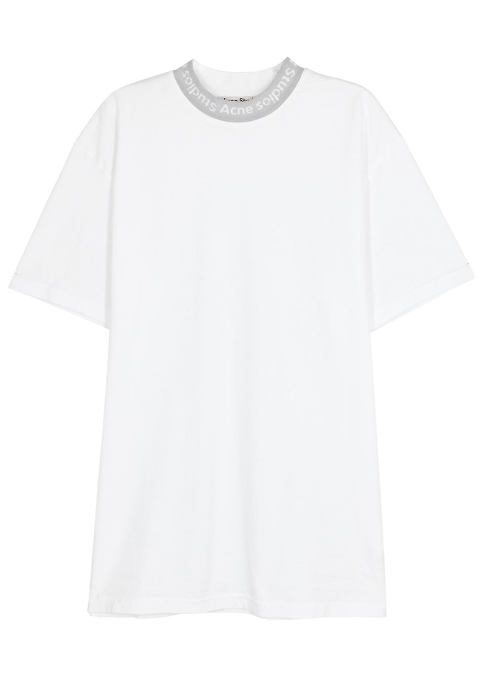 Gojina White Cotton T-Shirt