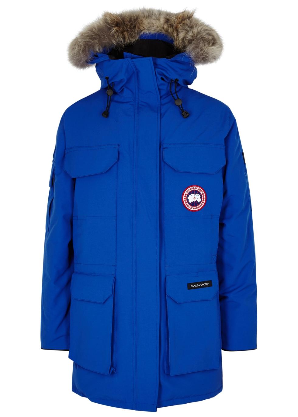 canada goose blue coat