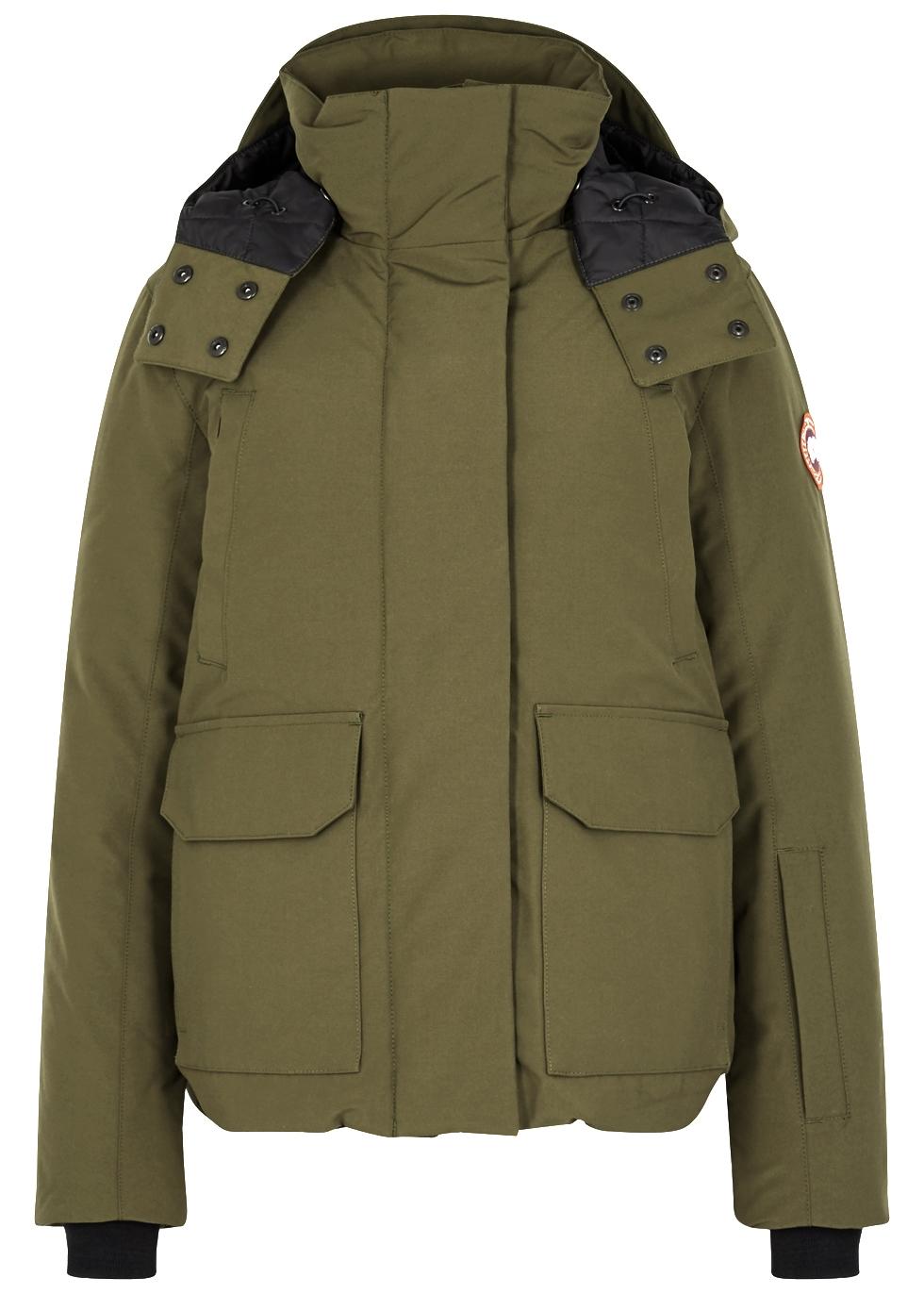 Canada Goose Blakely Hooded Shell Coat Harvey Nichols Hoc Premium Bluedark Full Set Suit