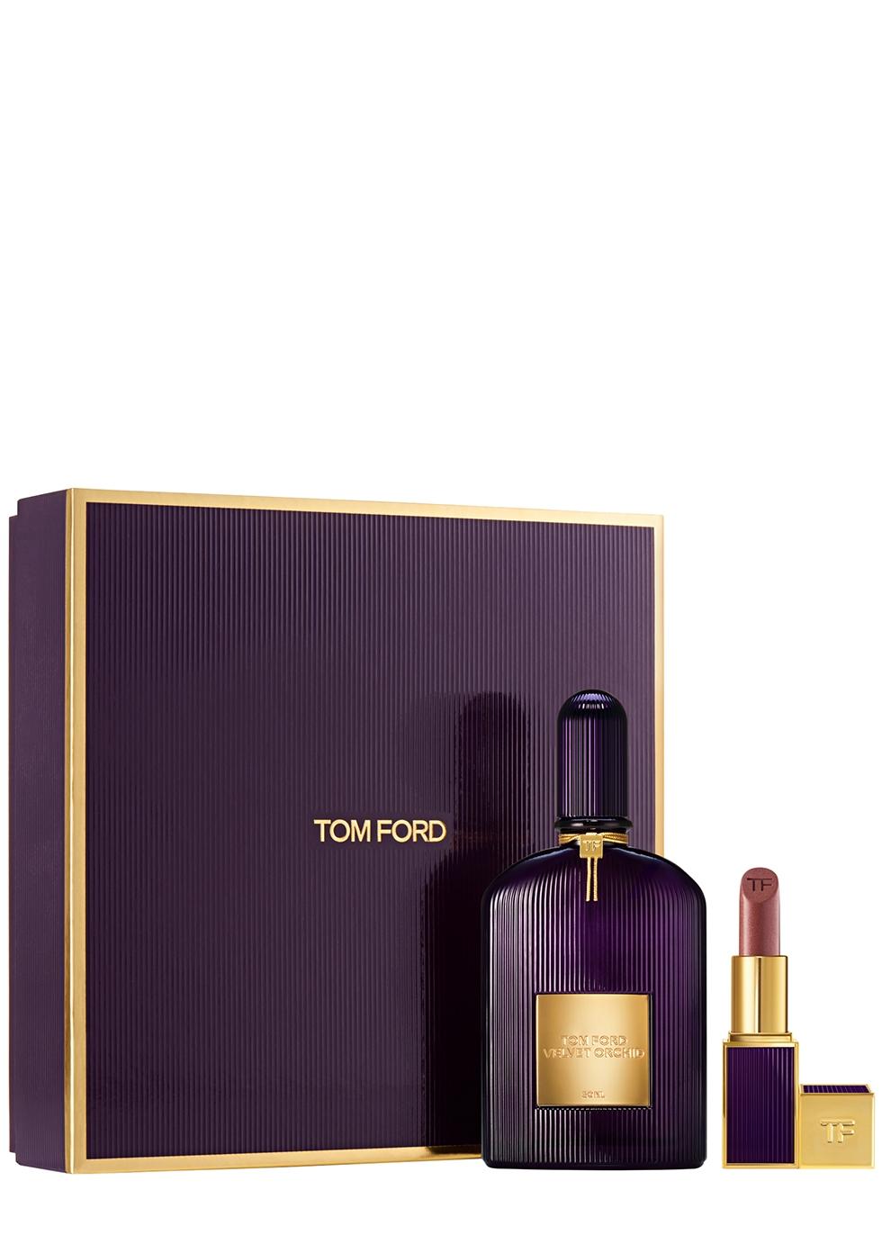 Velvet Orchid Eau De Parfum & Lip Color Set - Tom Ford
