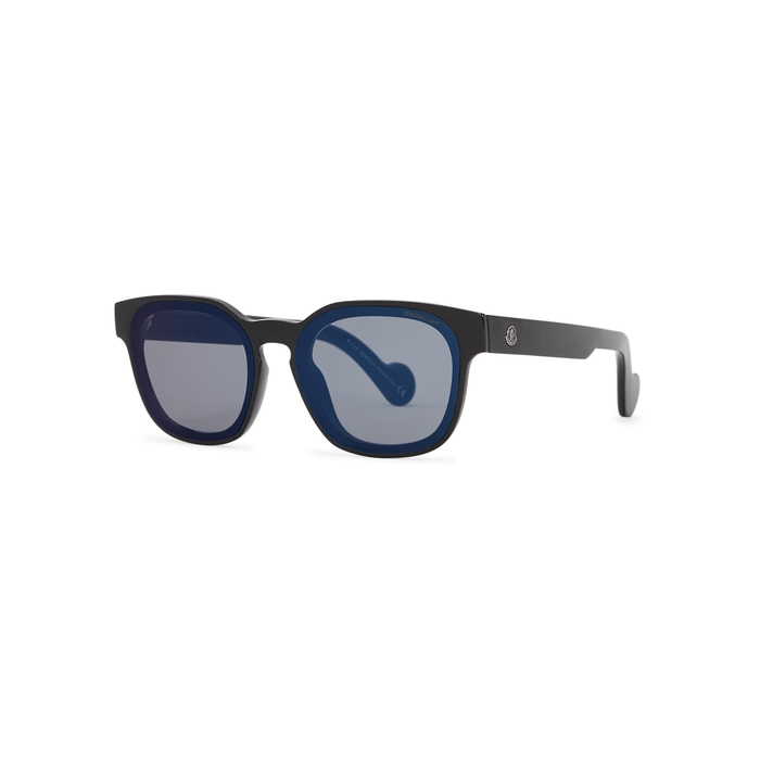 Moncler ML0086 Mirrored Wayfarer-style Sunglasses