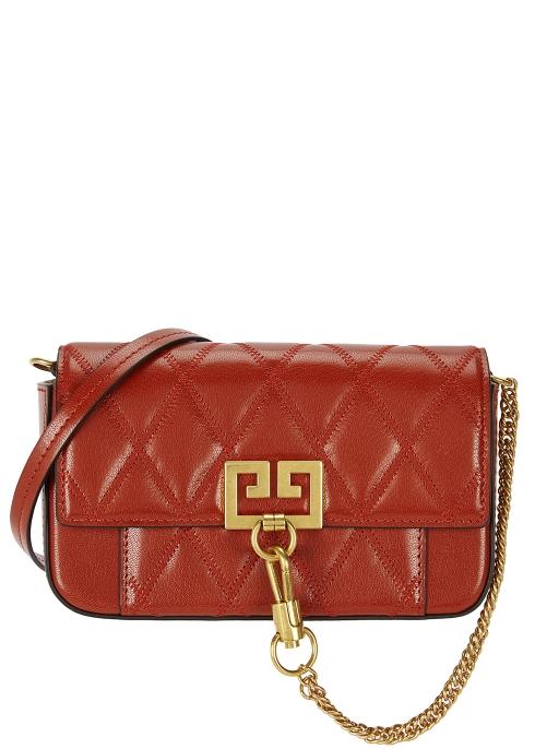 eb9580c5191 Givenchy Pocket mini black leather cross-body bag - Harvey Nichols