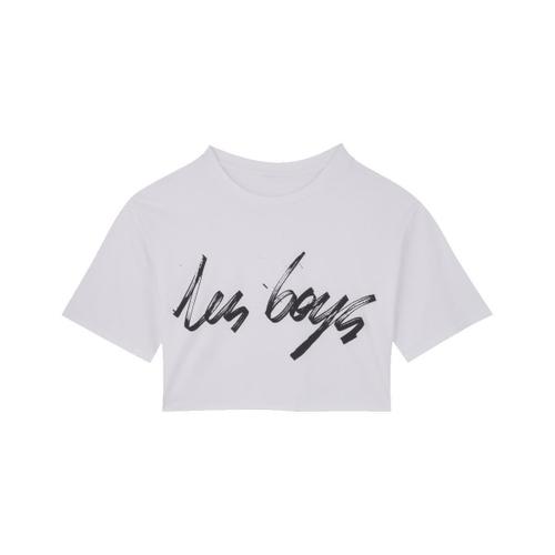 Les Girls Les Boys GRAPHIC CROP T-SHIRT #8 - LES BOYS