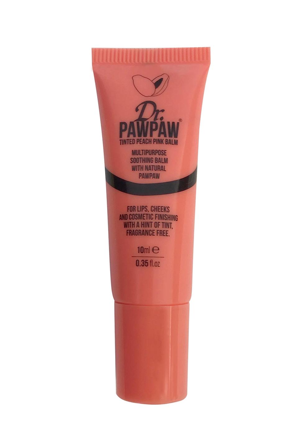 Tinted Peach Pink Balm 10ml