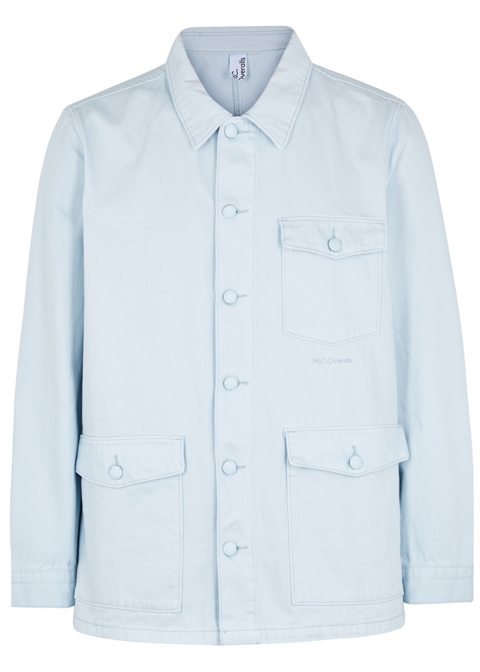 M.C. OVERALLS Light Blue Denim Jacket