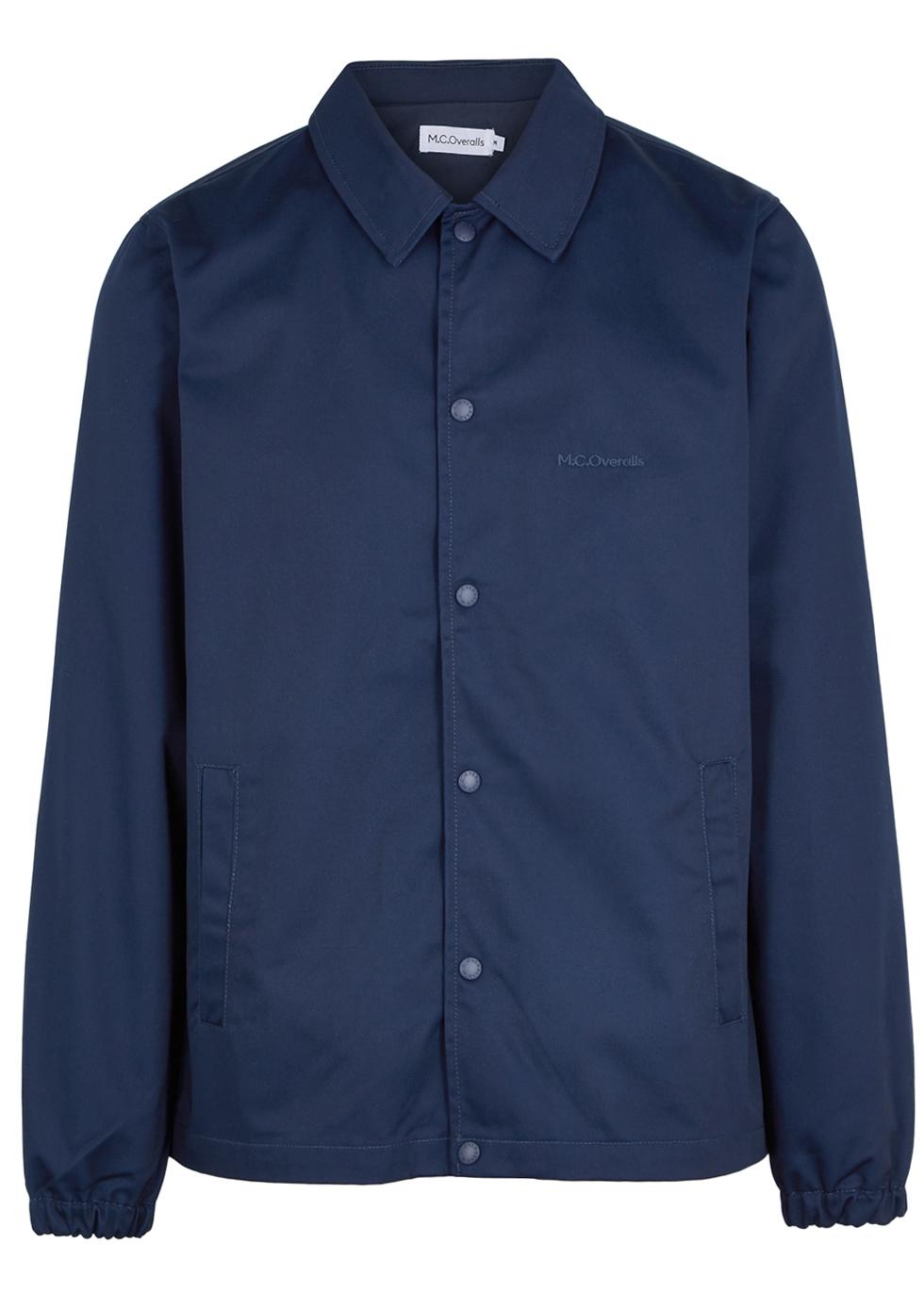 M.C. OVERALLS Navy Twill Jacket