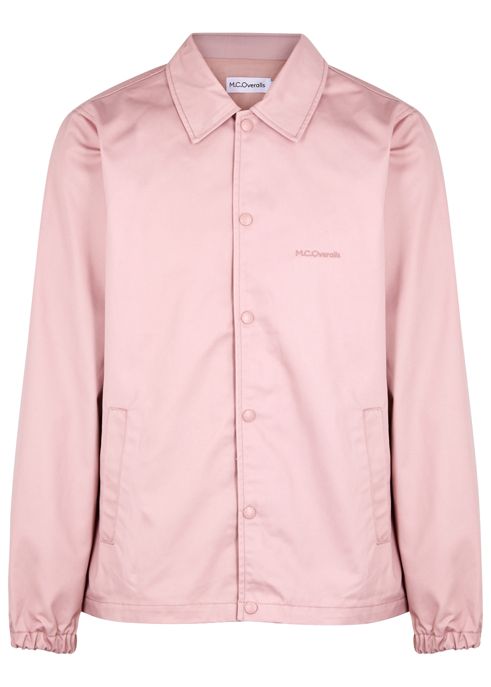 M.C. OVERALLS Dusky Pink Twill Jacket