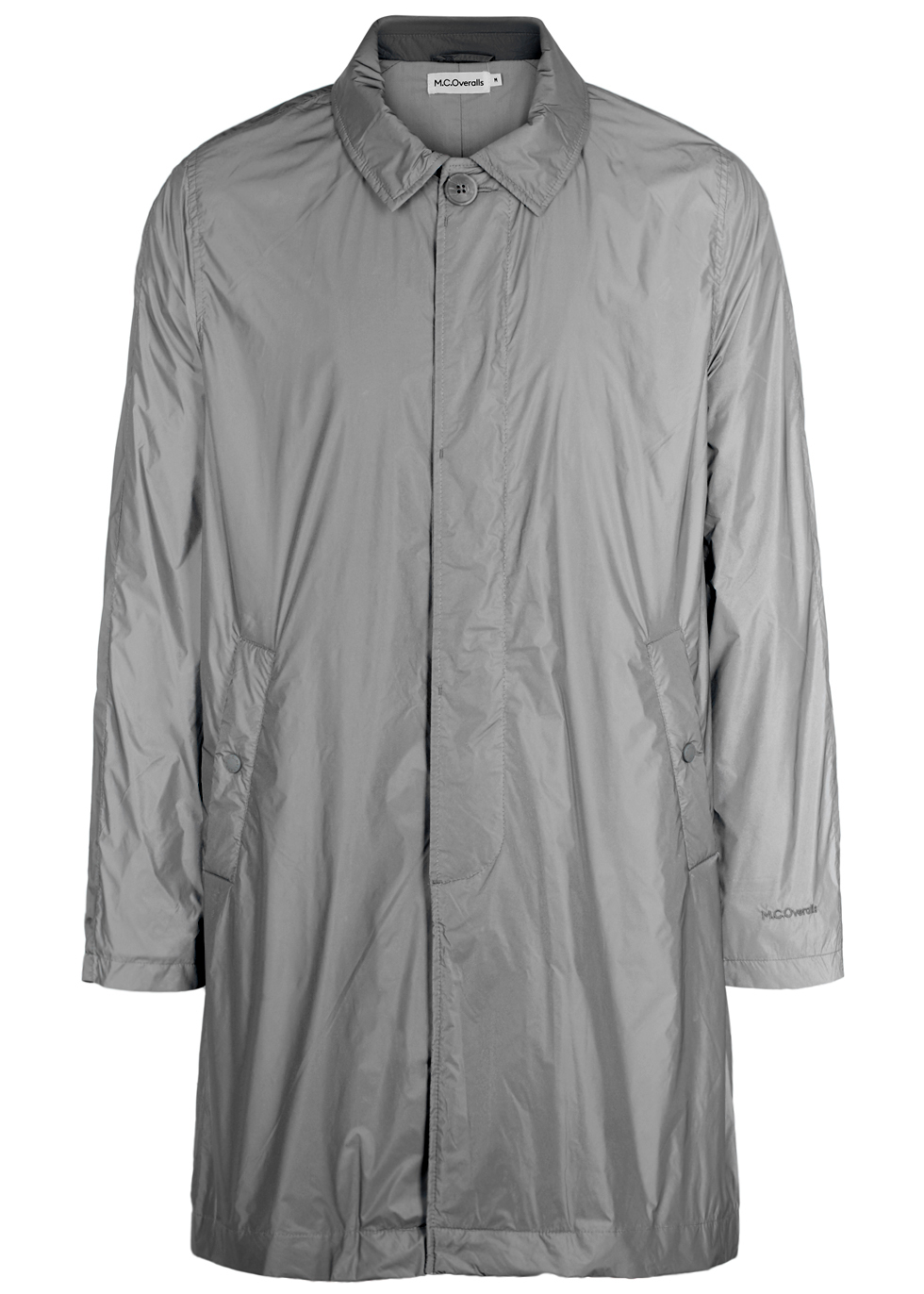 M.C. OVERALLS Grey Reflective Shell Coat