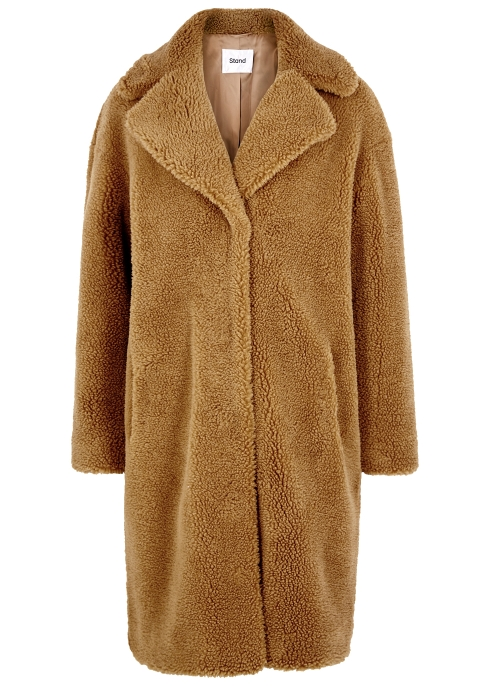 e2fa329ef Stand Camille brown faux shearling coat - Harvey Nichols