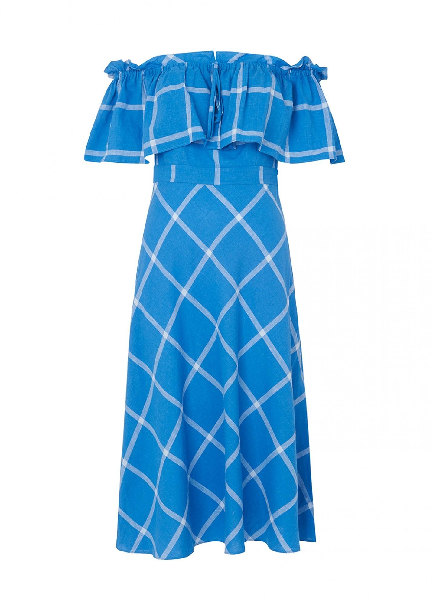 KITRI AMAYA BARDOT SUN DRESS
