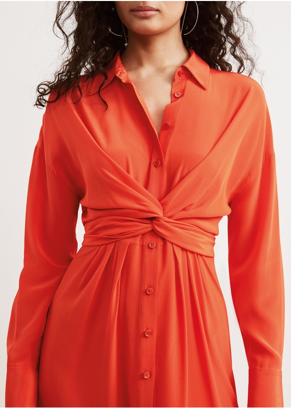4c157a43aa Phoenix silk shirt dress Phoenix silk shirt dress