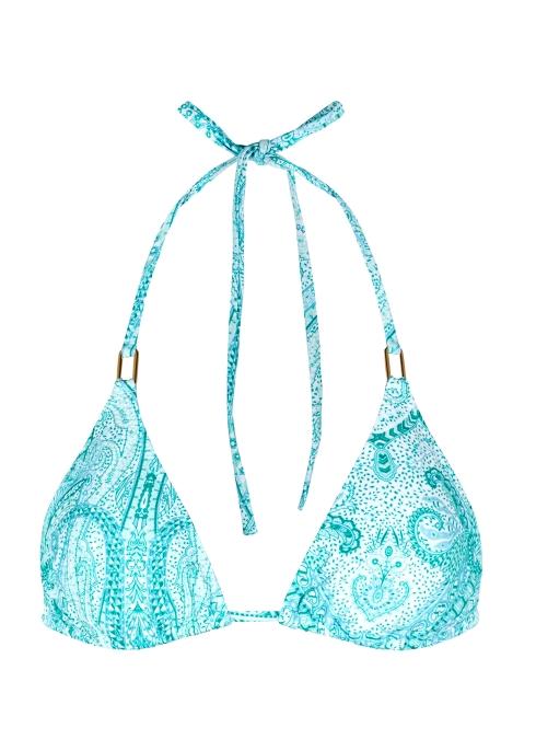 108df4bc0b Melissa Odabash Cancun printed bikini top - Harvey Nichols