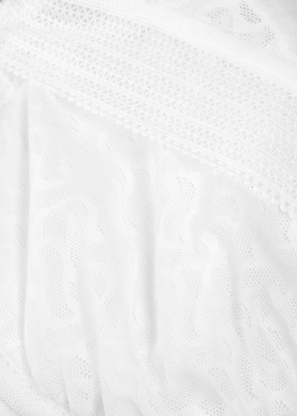 Aphrodite white lace plunge bra - Wacoal