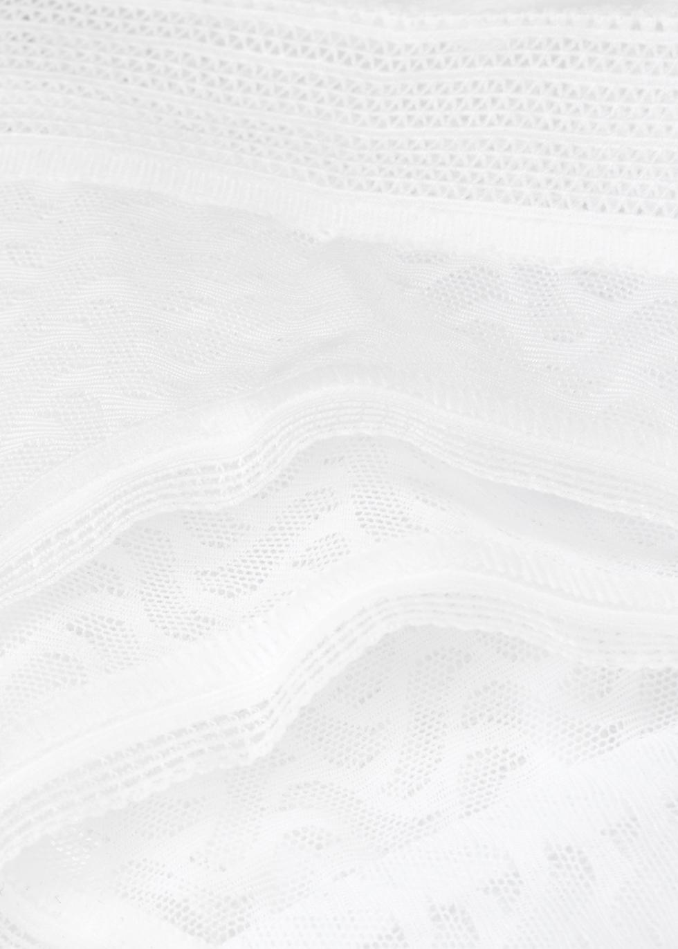 Aphrodite white lace thong - Wacoal
