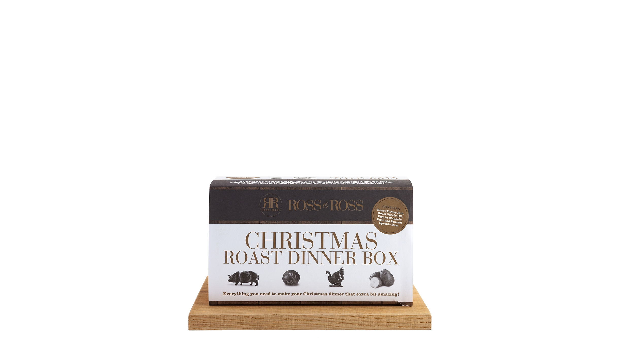 Ross & Ross Christmas Roast Dinner Box - Harvey Nichols