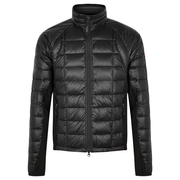 Canada Goose HyBridge Lite Black Shell And Jersey Jacket