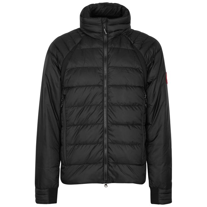 Canada Goose HyBridge Base Black Quilted Jacket