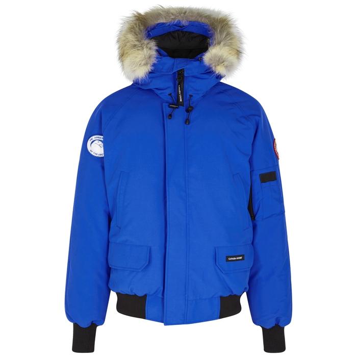 Canada Goose PBI Chilliwack Fur-trimmed Shell Jacket