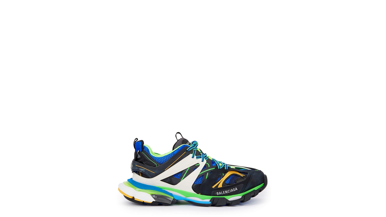 550451866431f Balenciaga Track leather and mesh trainers - Harvey Nichols
