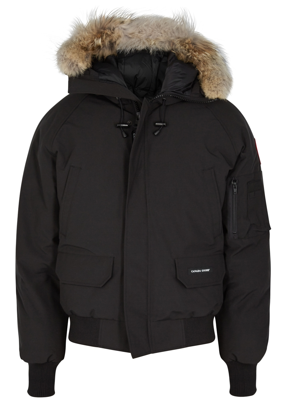 Chilliwack Fusion Fit fur-trimmed jacket - Canada Goose