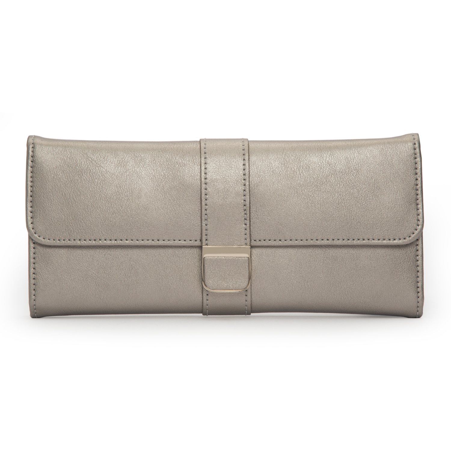 THE ALKEMISTRY PEWTER LEATHER JEWELLERY ROLL