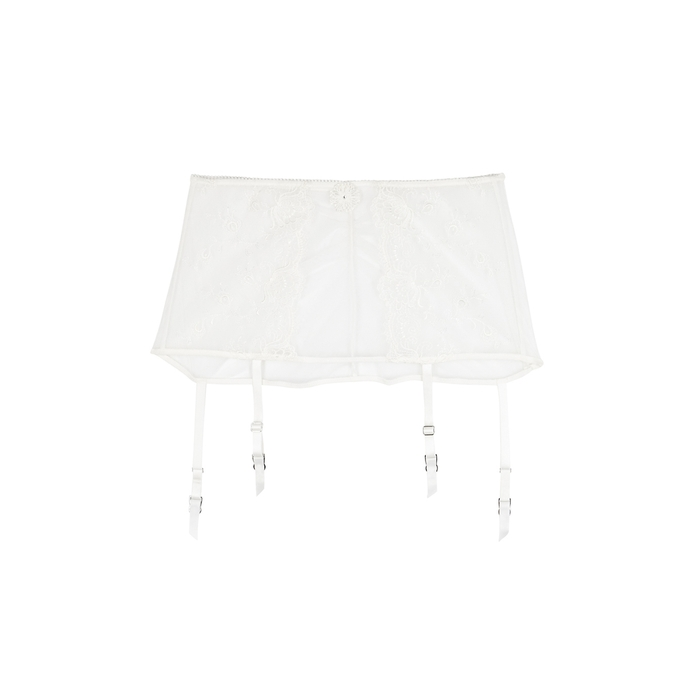 Wacoal Tops OPULENCE EMBROIDERED SUSPENDER BELT
