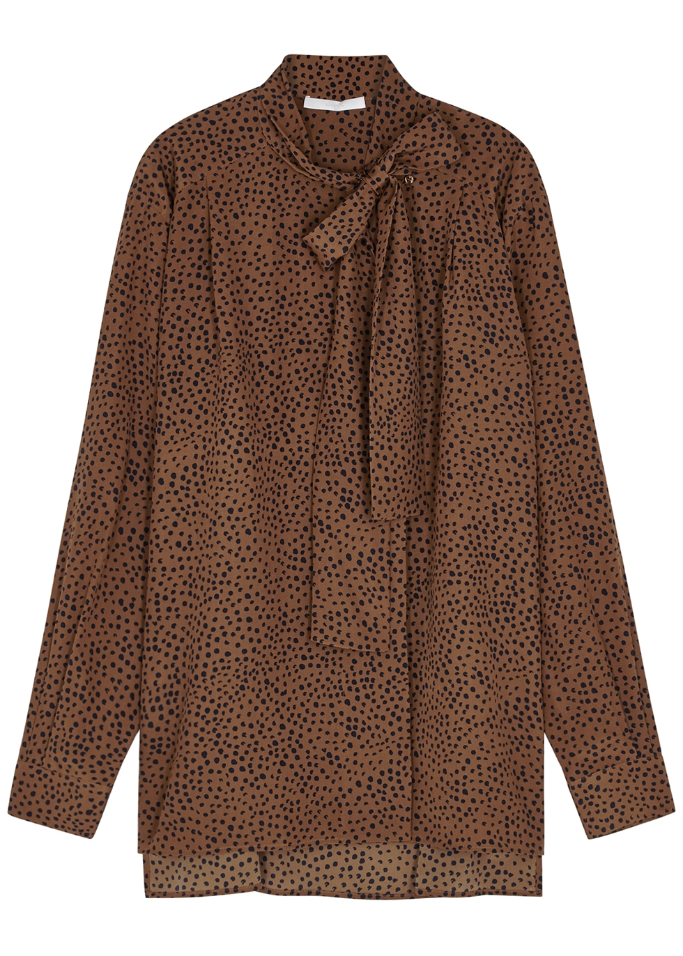 Nichols Silk Designer Harvey amp; Blouses Satin Ruffled Women's vHw0Tq
